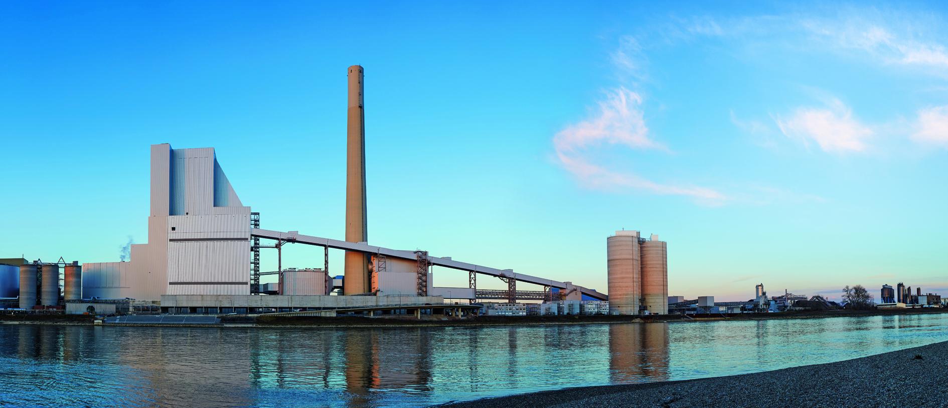 Kohlekraftwerk Mannheim