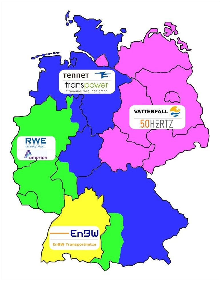 Regelenergie deutschland